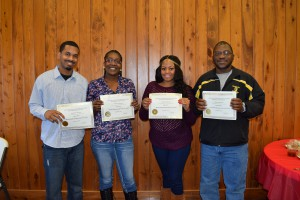 Joshua Dunn, Ashley Ware, Sylvia Hill and Joseph Bellamy named Mental Health Specialists of the Year at Louisiana Methodist Children's Home